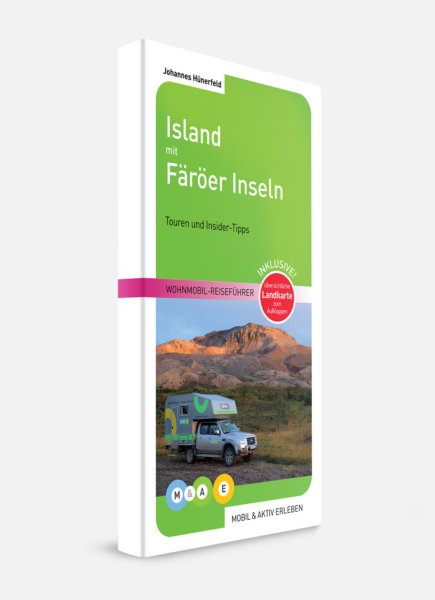 Wohnmobil Reiseführer Island mit Färöer Inseln