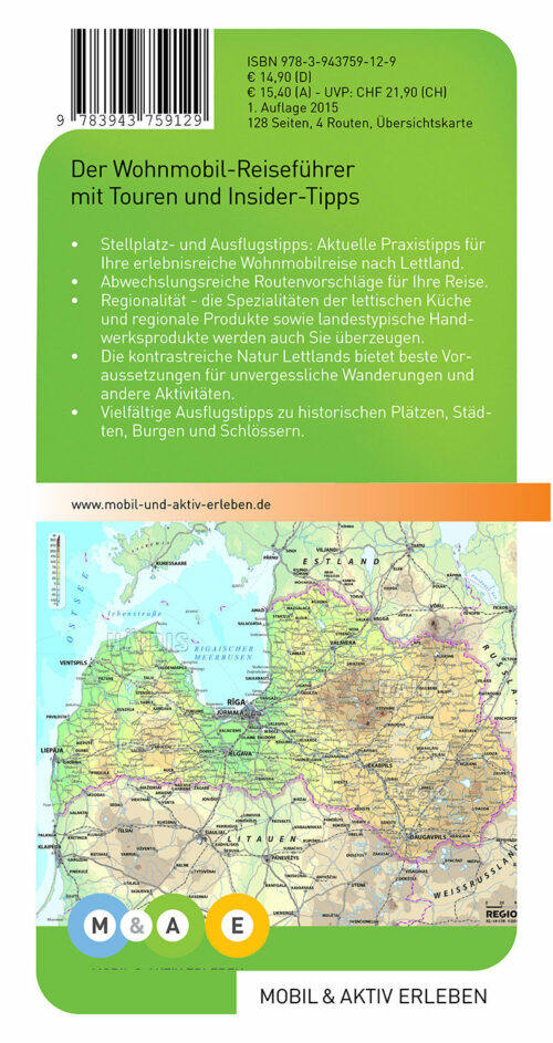 Wohnmobil Reiseführer Lettland