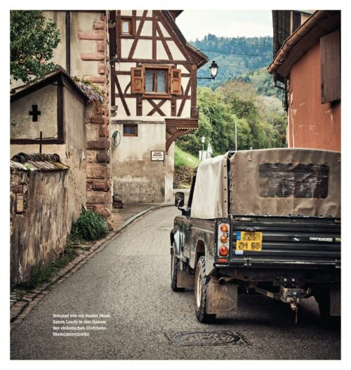 Landy Love Buch Leseprobe - Land Rover Defender