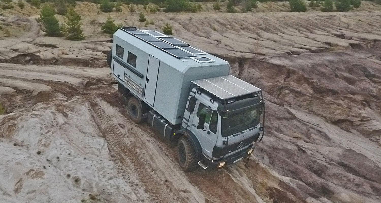 Mercedes-Benz Allrad Expeditionsfahrzeug