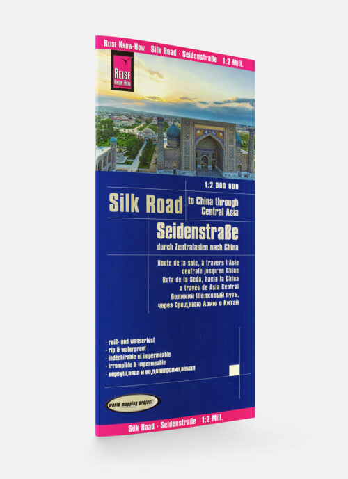 Reise Know-How Landkarte Seidenstrasse Silkroad