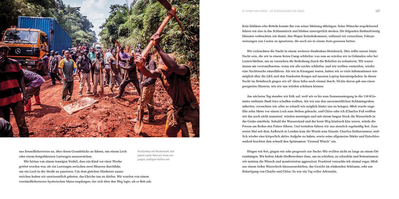 Die Durchquerung des Kongo - Land Rover Expedition - Buch