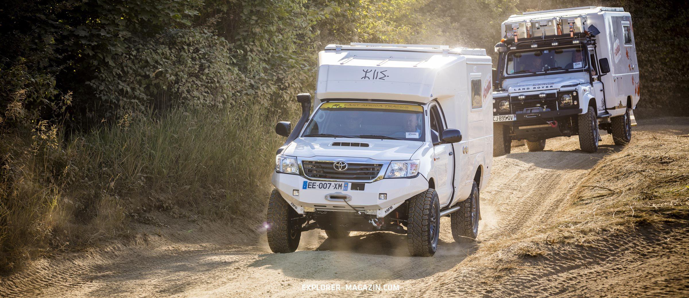 PSI Azalai Offroad Pickup-Kabinen Test
