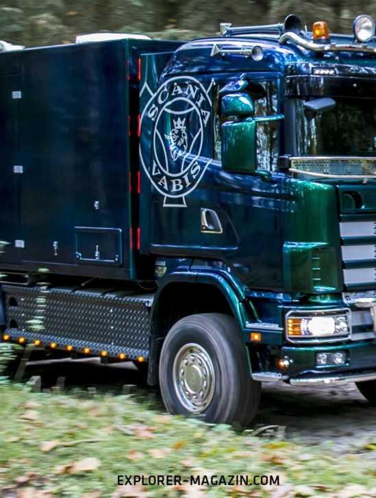Scania 124.420 4x4 Allrad-Wohnmobil