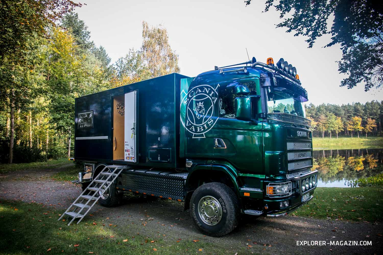 King of Offroad: Ein selbst ausgebautes Scania Allrad-Wohnmobil