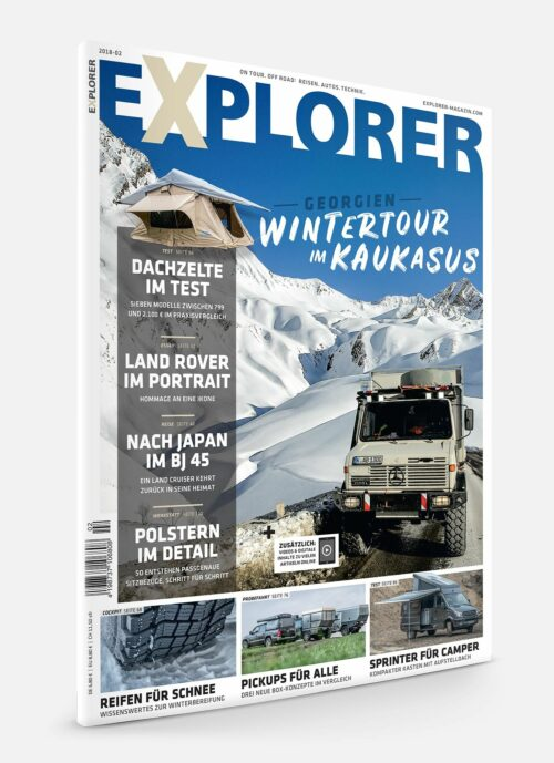 EXPLORER Magazin Ausgabe 2018-02