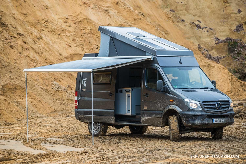 Allrad-Sprinter von Custom Campers im Test  EXPLORER Magazin