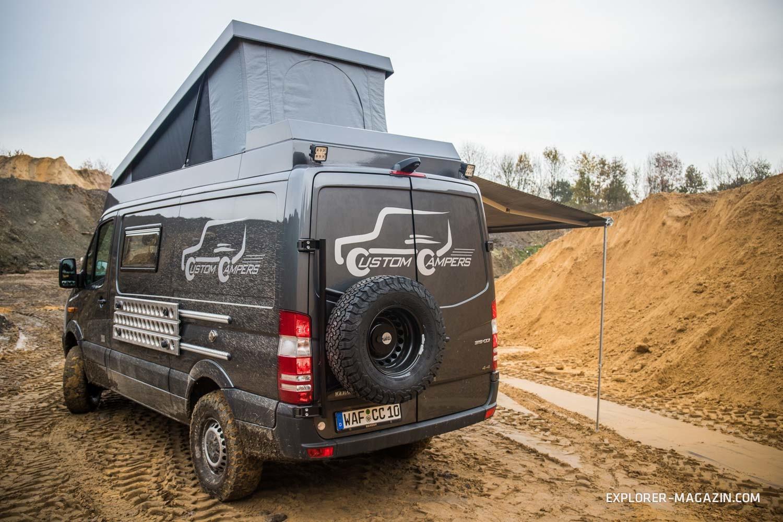 allrad sprinter von custom campers im test explorer magazin. Black Bedroom Furniture Sets. Home Design Ideas