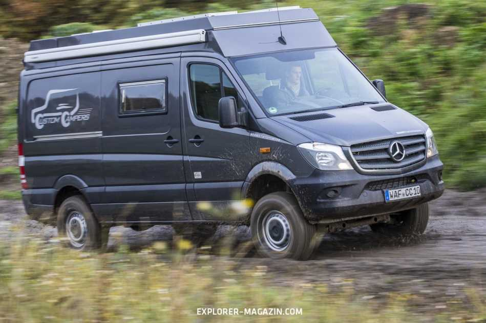 4x4 Sprinter Wohnmobil von Custom Campers