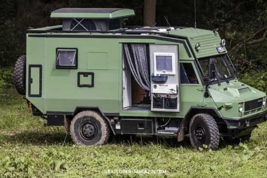 Iveco 40.10 WM Allrad Expeditionsmobil