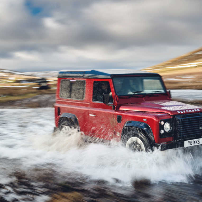 Land Rover Defender Sonderedition 70. Markengeburtstag