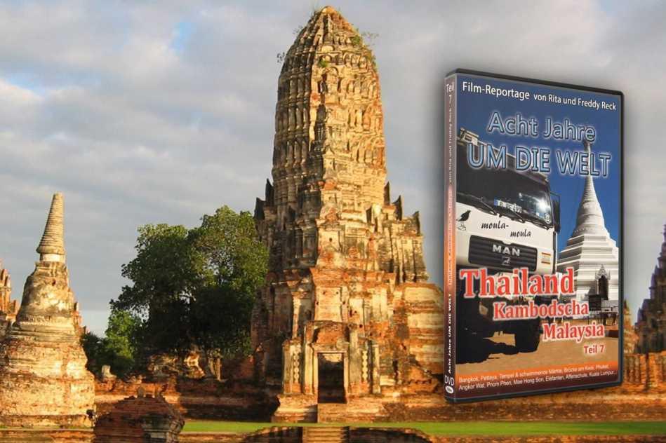Acht Jahre um die Welt – Teil 7 – Thailand, Kambodscha, Malaysia - DVD