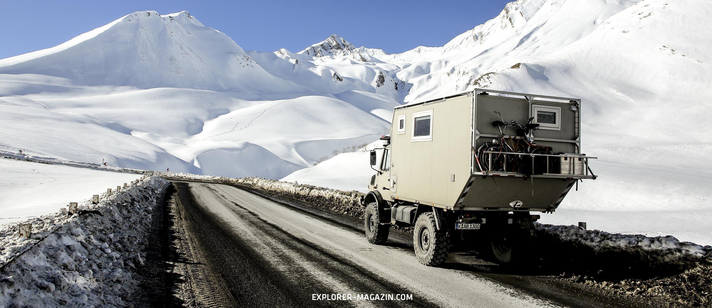 Georgien - Wintertour im Kaukasus