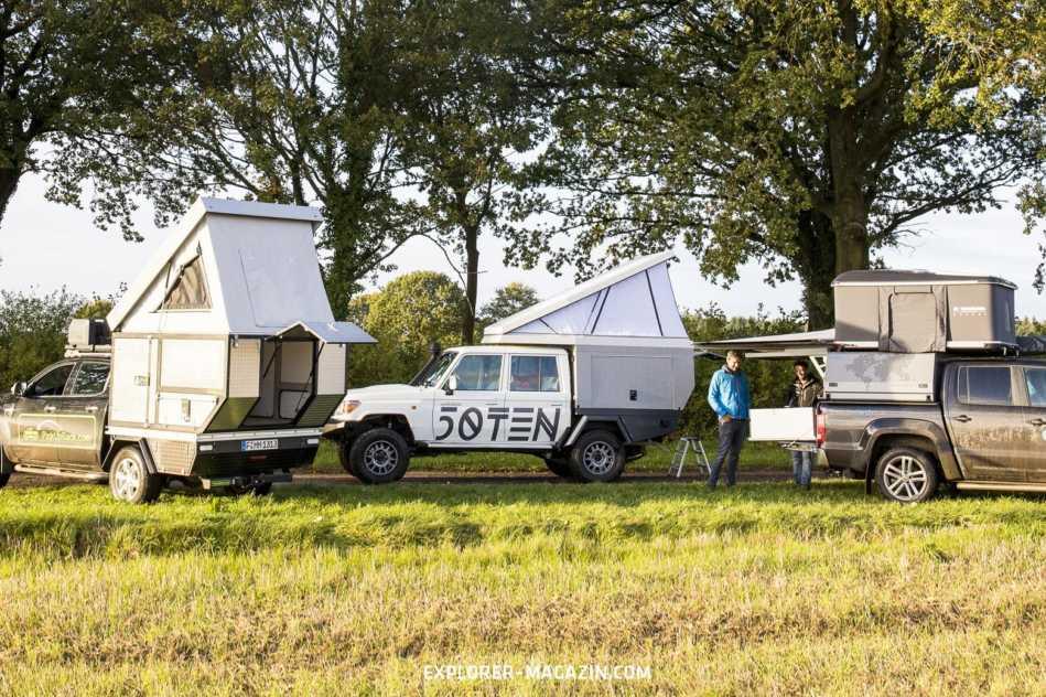 Pickup-Camper Vergleichstest 2018
