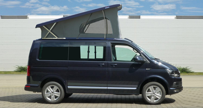Elektrisch aufstellendes Schlafdach von Reimo für VW T6