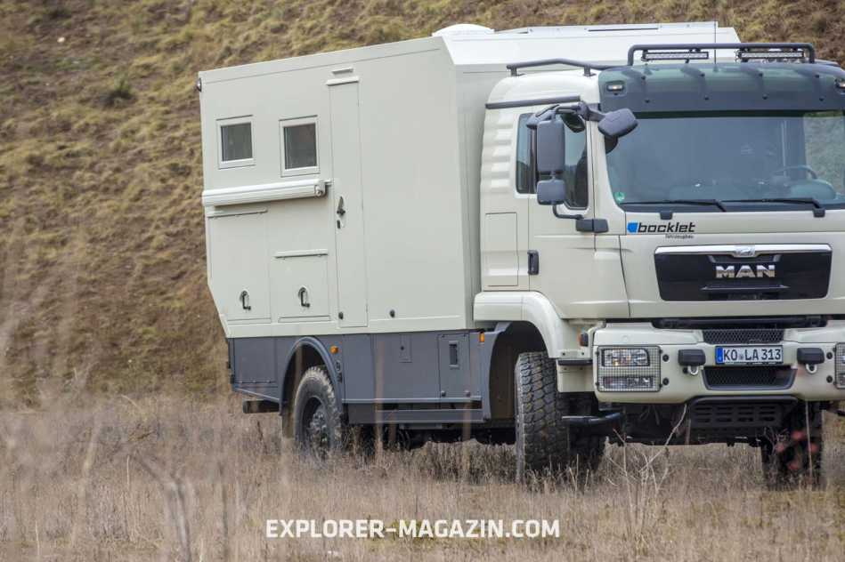 MAN TGM 13.290 Bocklet Dakar 825 Expeditionsmobil