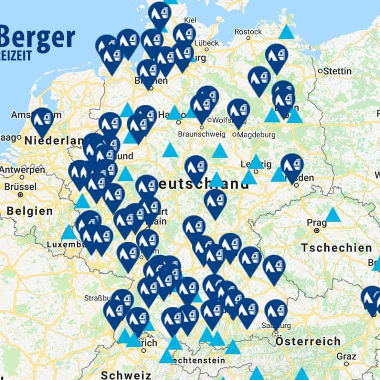 Fritz Berger Filialen