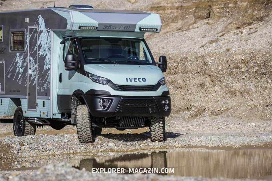 Iveco Daily 4x4 Wohnmobil - Bimobil EX 412