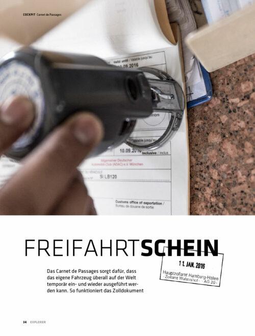 Carnet de Passages – Ausfüllen Anleitung Tipps Infos Download PDF