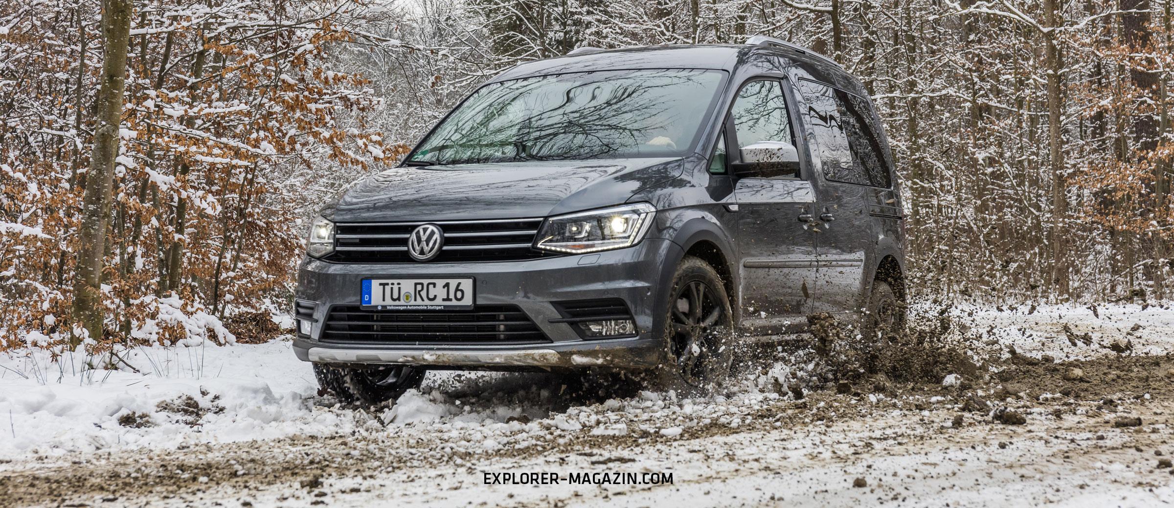 VW Caddy Allrad Camper von Rohde