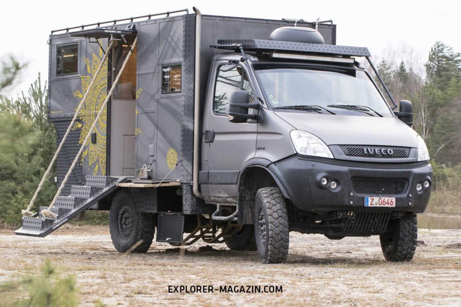 IVECO Daily 4x4 Allrad Wohnmobil - Luftgekühlt 65