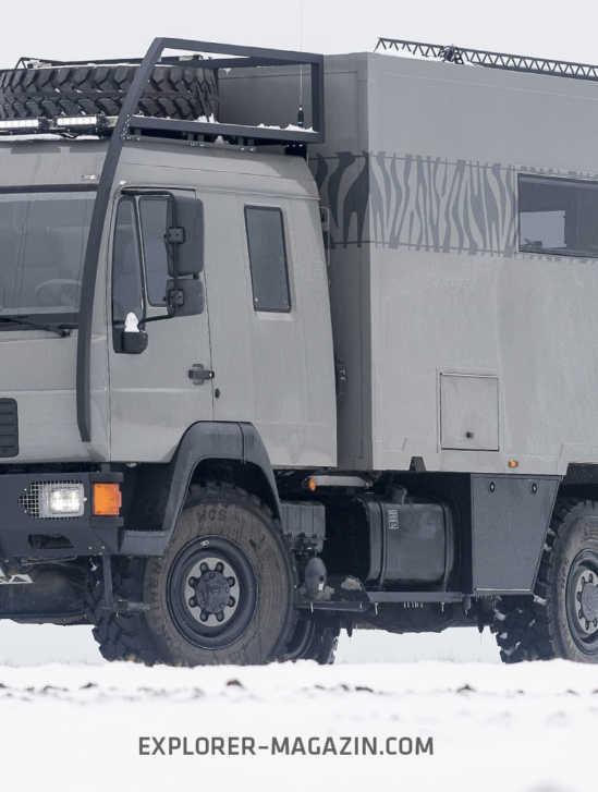 MAN L2000 10.220 4x4 Wohnmobil