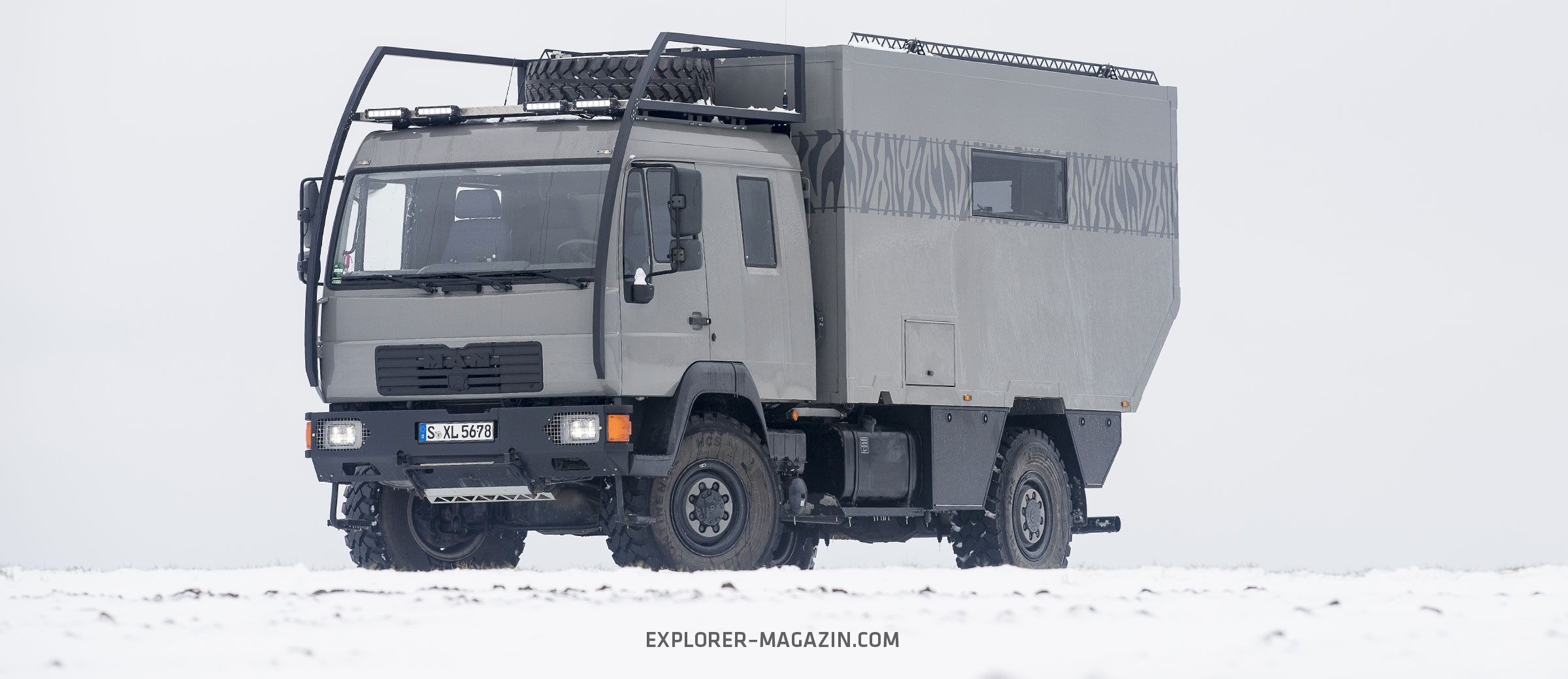 Architektenhaus – MAN L8 8x8-Wohnmobil  EXPLORER Magazin