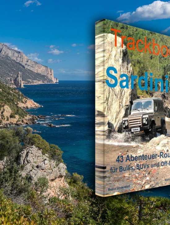 Trackbook Sardinien Offroad Reiseführer GPS