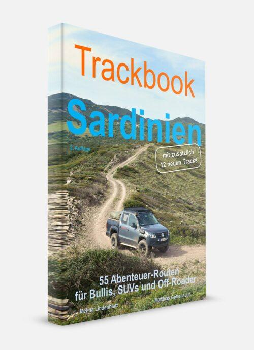 Trackbook Sardinien Offroad Routen Buch
