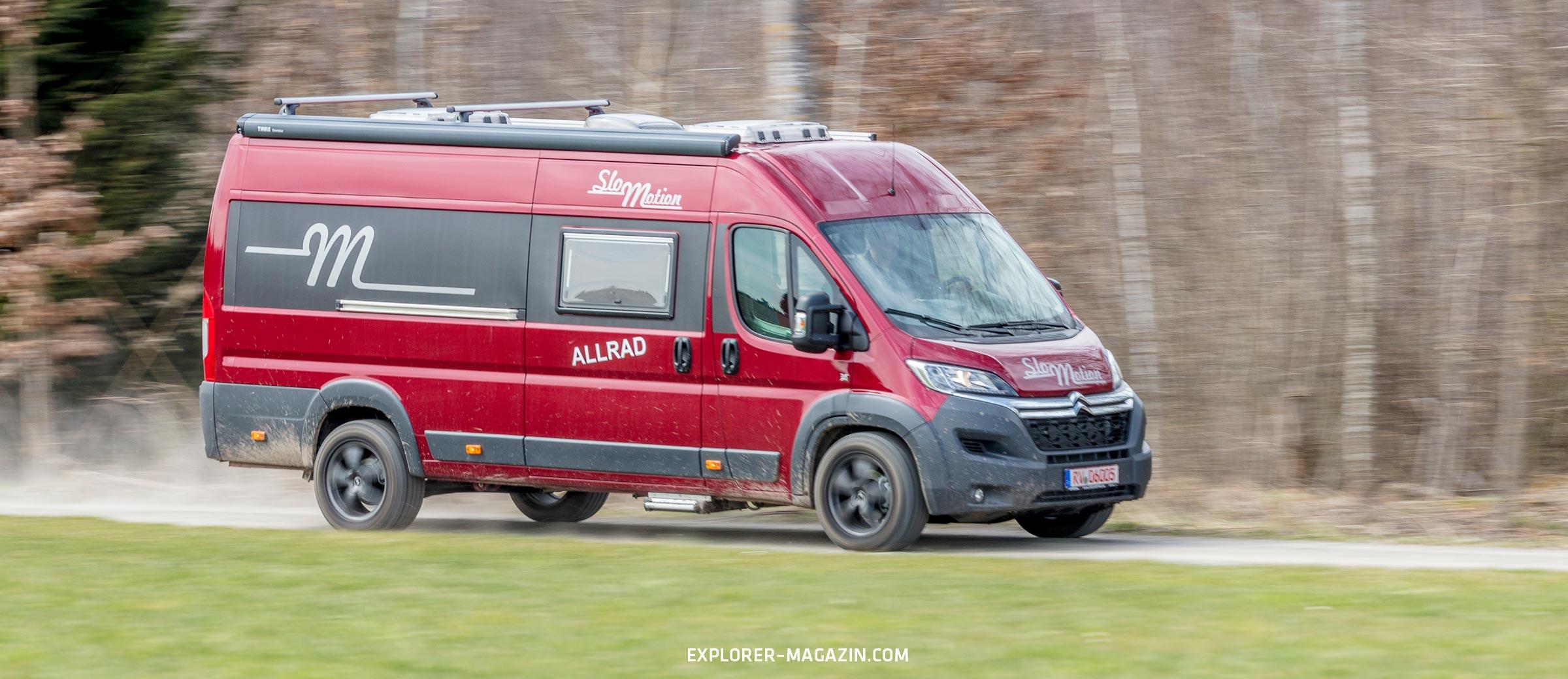 Für Einsteiger Klasse: Citroën Jumper Allrad-Wohnmobil  EXPLORER