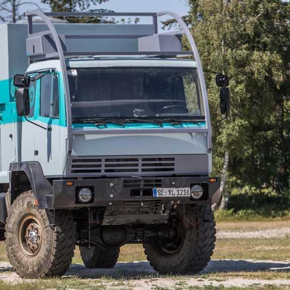 Lackierung Steyr 12M18 Naviton