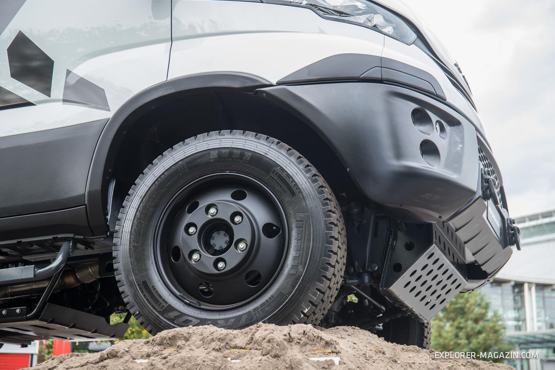 Der neue Iveco Daily 4x4 2019 - Vorgestellt auf der IAA Nutzfahrzeuge Hannover 2018