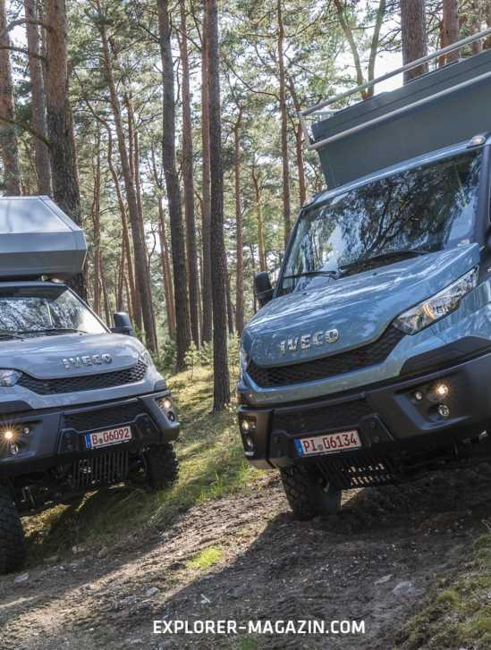 Iveco Daily Allrad Wohnmobil Vergleichstest