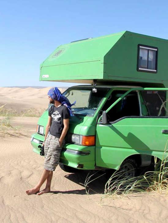 Mitsubishi L300 Allrad Camper Mr. Pink Selbstbau Roomtoour