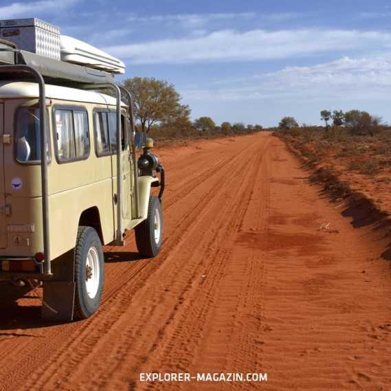 Australien Outback Offroad entdecken - Landcruiser