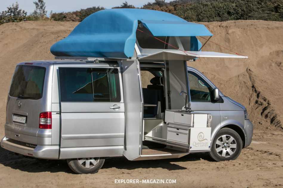 VW Multivan Camper - Queensize Campingbus - Volkswagen Bulli T5 T6