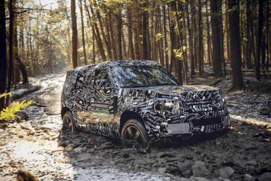 Der neue Land Rover Defender 2020 - Erste Bilder und Video