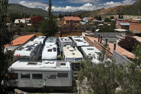 Hotel Oberland - La Paz - Bolivien - Stellplatz