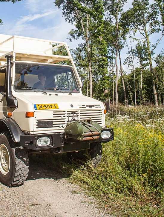 Mercedes-Benz Unimog Offroad-Wohnmobil