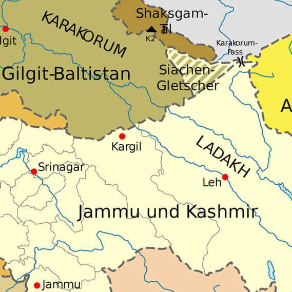 Kaschmir Konflikt Pakistan Indien Overland 2019