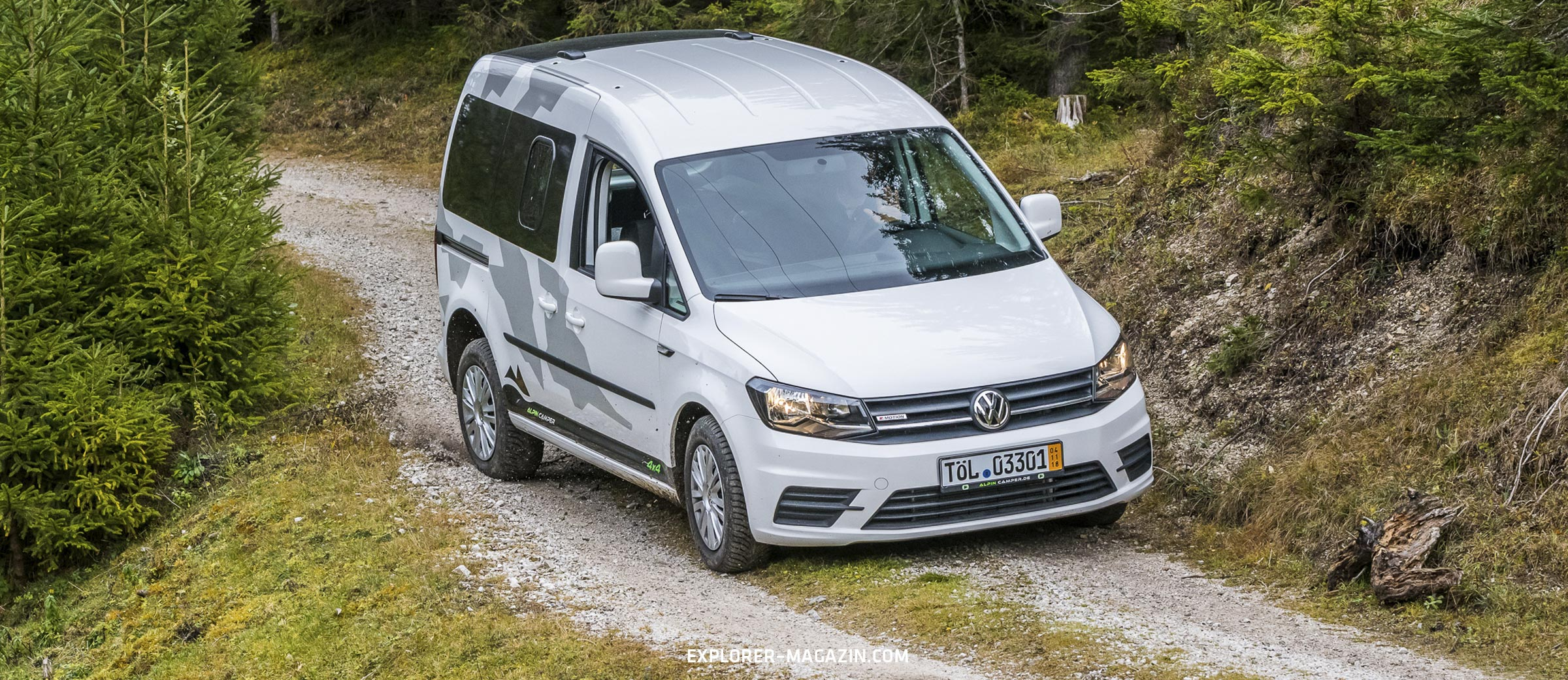 VW Caddy 4motion - Alpincamper