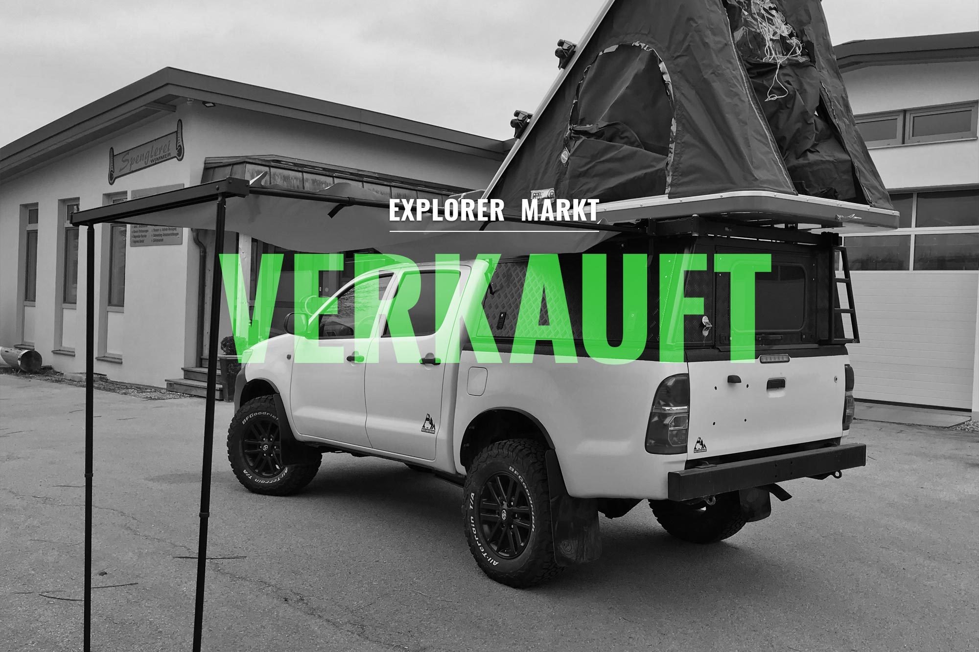 verkauft toyota hilux 4x4 double cab 2 5 l explorer magazin. Black Bedroom Furniture Sets. Home Design Ideas