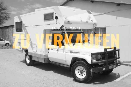 Toyota Landcruiser HZJ75 Wohnmobil gebraucht zu verkaufen