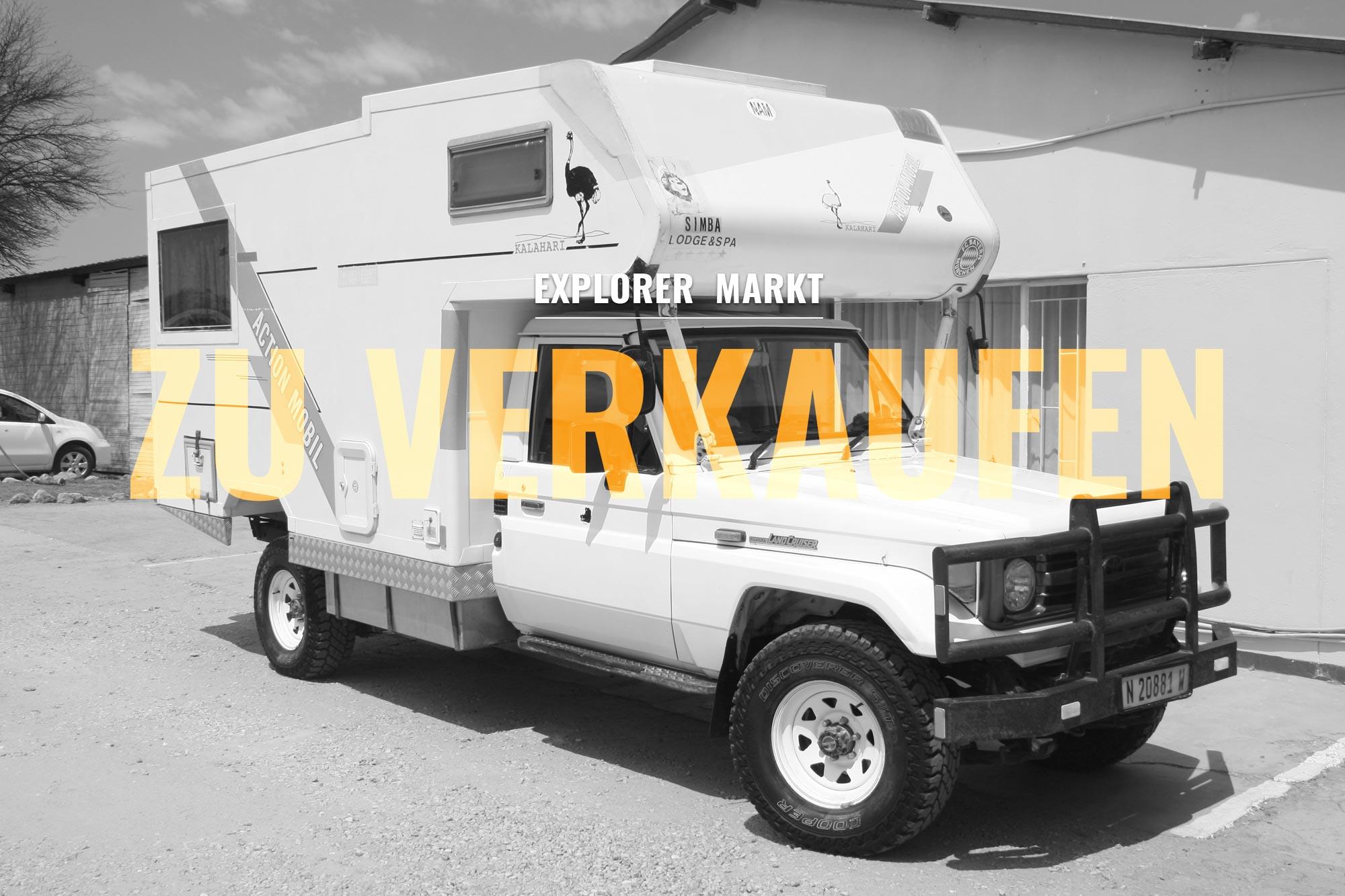 ZU VERKAUFEN: Toyota Landcruiser HZJ10 Wohnmobil - 10.10