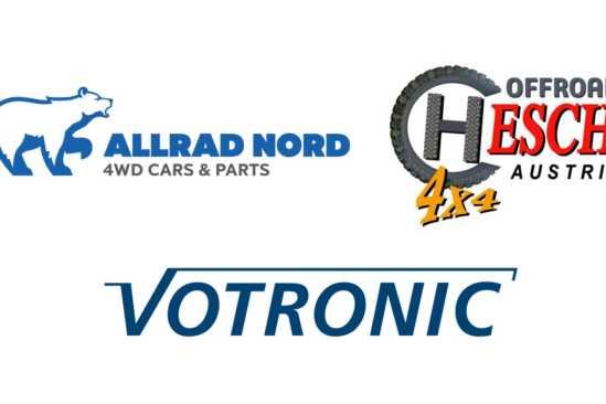 Allrad Nord, Offroad Hesch, Votronic Logos