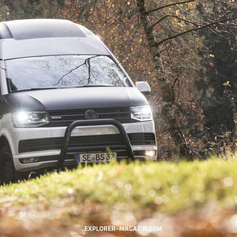 VW T6 Offroad Campervan von BS Camperwerk Probefahrt
