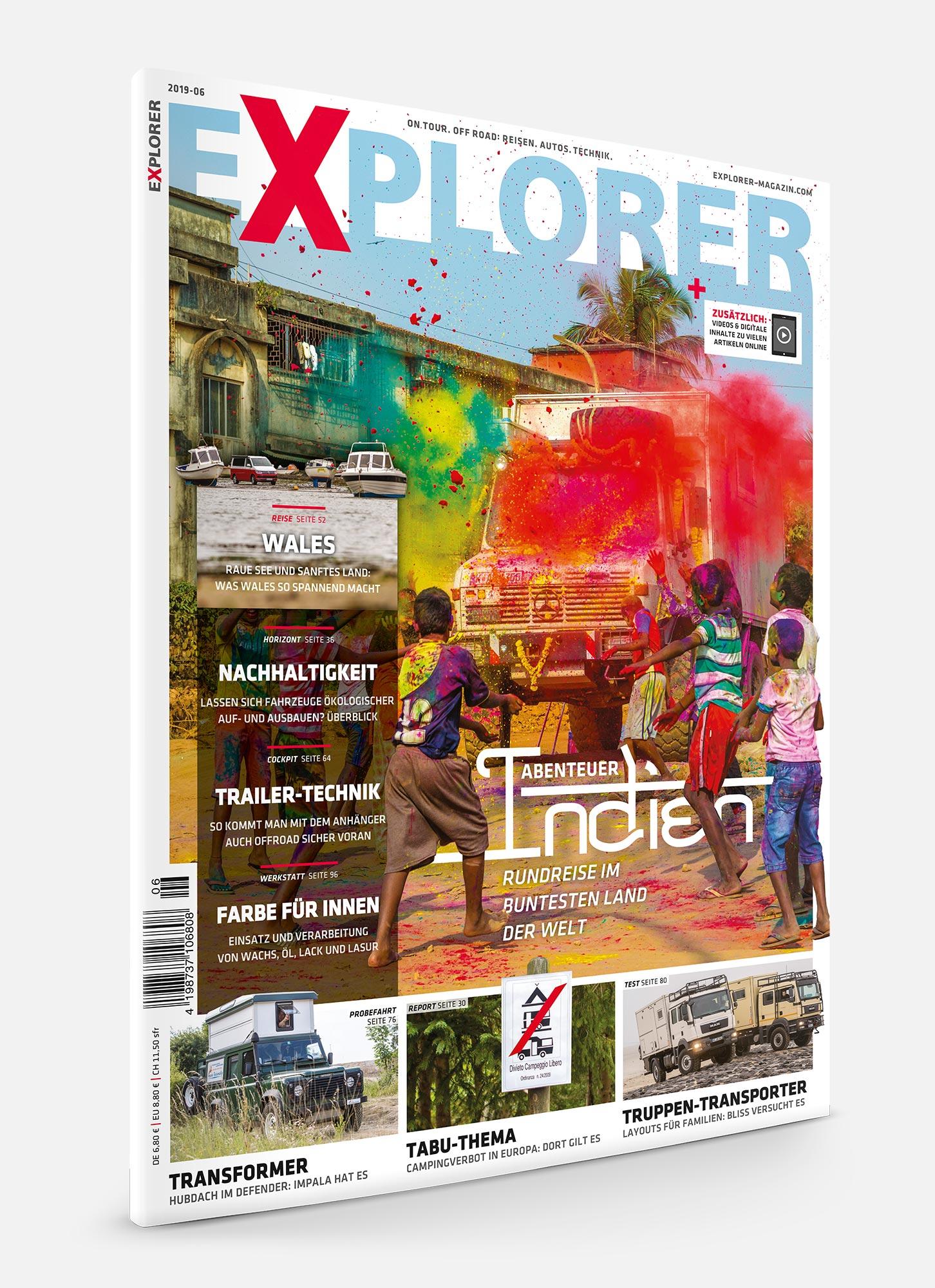 EXPLORER Magazin 2019-06 Titel