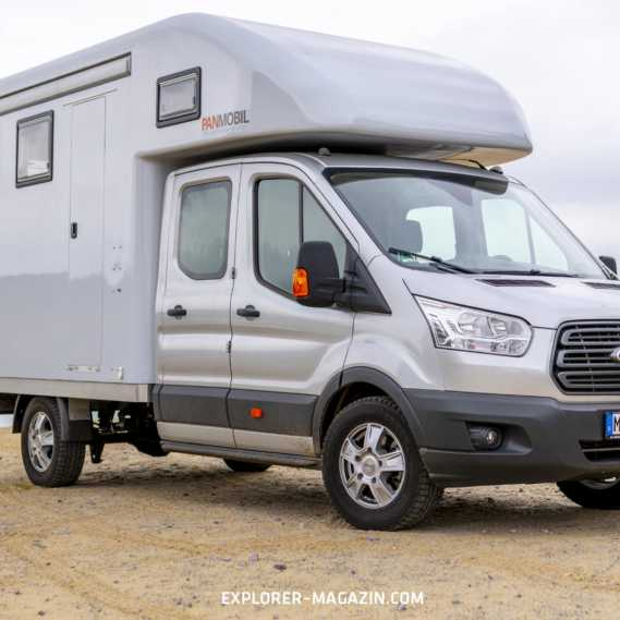 Ford Transit Allrad-Wohnmobil im Test - PanMobil