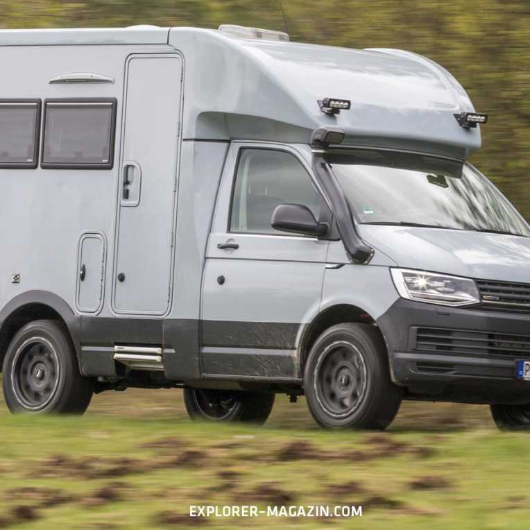VW T6 Allrad Wohnmobil - Woelcke Autark Crosser Compact Test