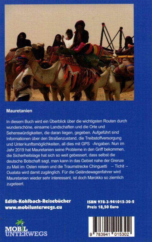 Reiseführer Mauretanien Offroad Edith Kohlbach
